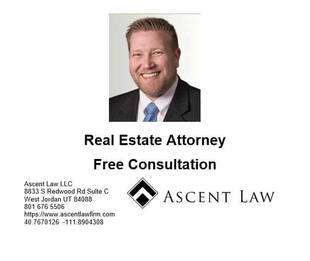 Utah Real Estate Code 57-1-20