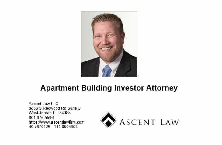 Apartment Building Investor Attorney