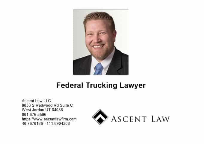 Federal Trucking Law