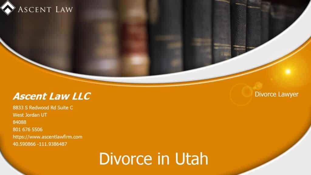 South Jordan Utah Divorce Attorney