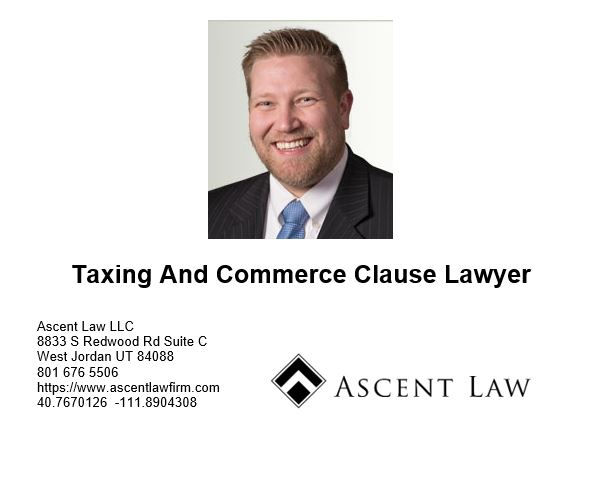 Taxing And The Commerce Clause