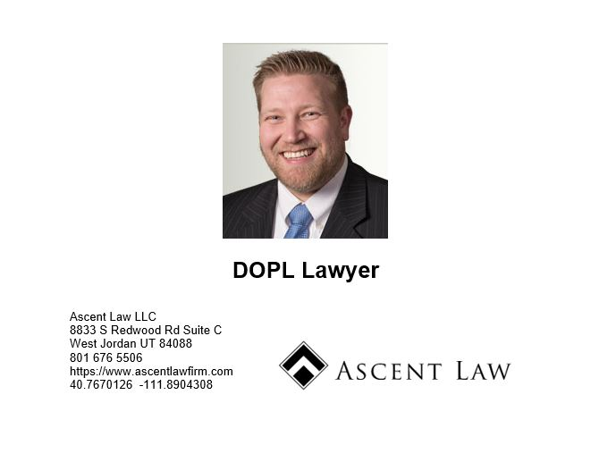 Utah DOPL Lawyer