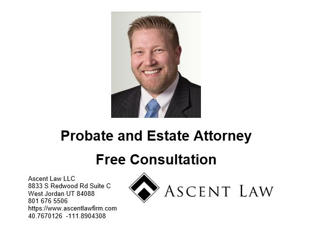 Probate Attorney South Jordan Utah