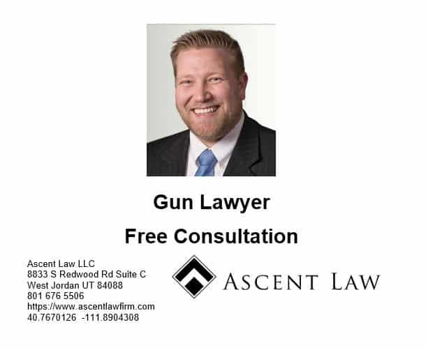 Utah State Gun Law Changes