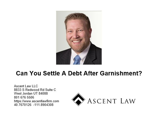 Can You Settle A Debt After Garnishment?