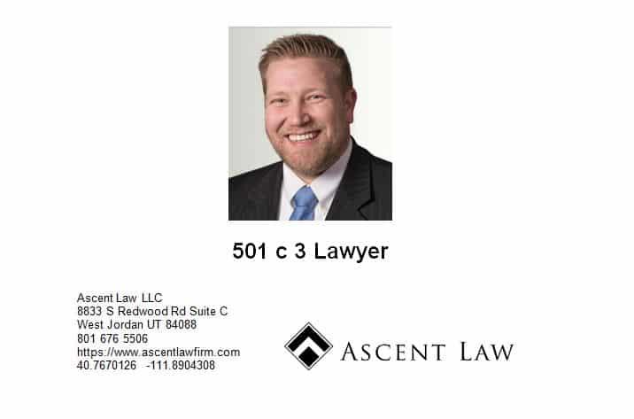 501 C 3 Attorney