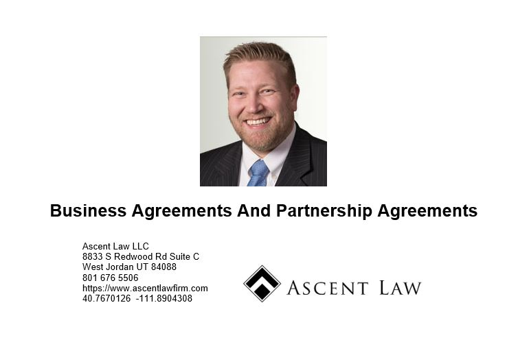 Business Agreements And Partnership Agreements