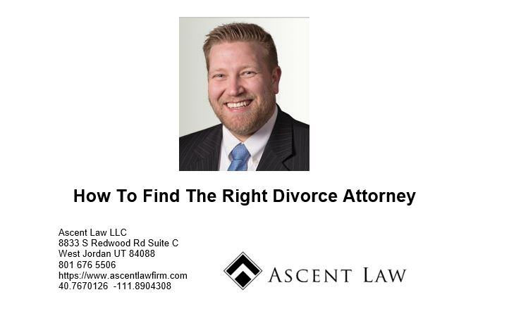 How To Find The Right Divorce Attorney