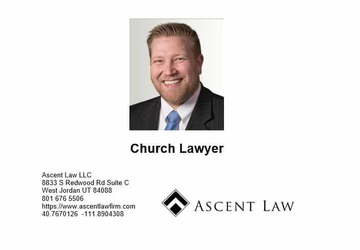 Law Firm Focusing On Church Law