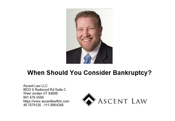 When Should You Consider Bankruptcy
